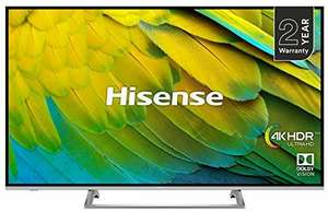 Hisense H50B7500UK 50-Inch 4K UHD HDR Smart TV with Freeview Play (2019) £329 @ Amazon