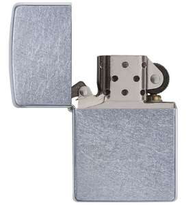 Zippo Classic Street Chrome Windproof Lighter Regular Size £9.99 delivered at 7dayshop (more in OP)