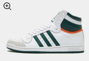 Adidas Originals Top Ten Hi Top Trainers Now £30 sizes 6 up to 9.5 @ J D Sport Free C&C or £3.99