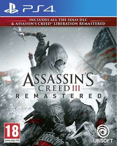 Assassin's Creed III (3) + Liberation HD Remaster - PS4/XBOX ONE for £16.95 Delivered @ Coolshop