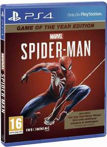 Marvel's Spider-Man Game Of The Year Edition (PS4) £19.95 @ Evergameuk / eBay