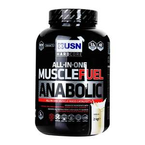 USN Muscle Fuel Anabolic Powder 2000g £26.99 (Code EXTRA 15% off £30 and 20% off £45) - Holland and Barrett