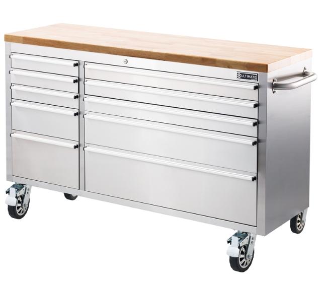 Ultimate 56in 10 Drawer Tool Trolley £400 at Homebase