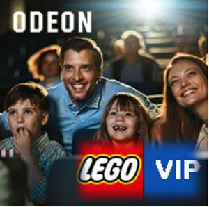 12 Month Cinema Discount Pass from VIP Rewards offering up to 40% off @ LEGO