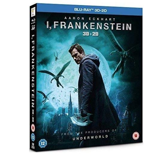 I Frankenstein 3d/2d £1.58 (+£2.99 Non Prime) @ Amazon