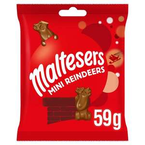 Maltesers mini reindeers 59g now only £0.25 in Tesco express seven sisters hornsey road