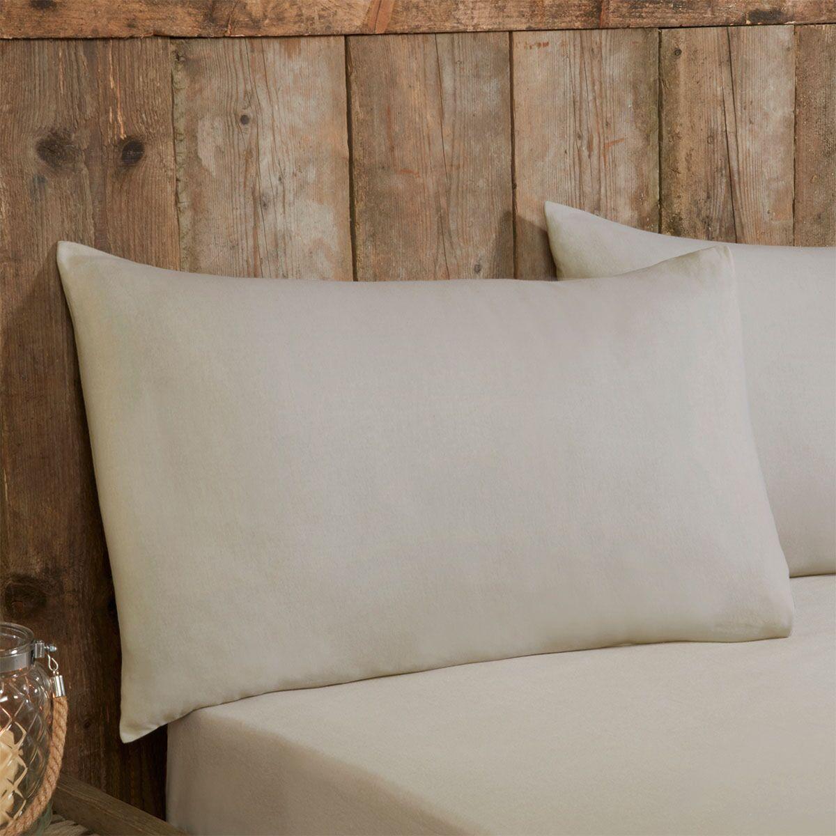 Robert Dyas - Silentnight Pillowcases Pair - Natural - Free C&C £2.50