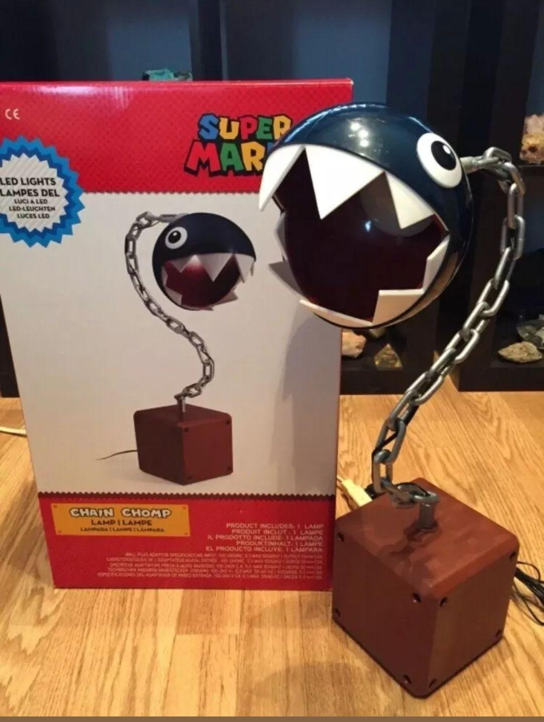 Mario chain chomp lamp £50 instore @ Game Westfield Sheppards Bush
