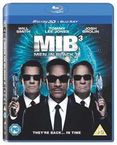 Men in black 3 blu ray 3d + blu ray £2.69 new delivered@ music magpie