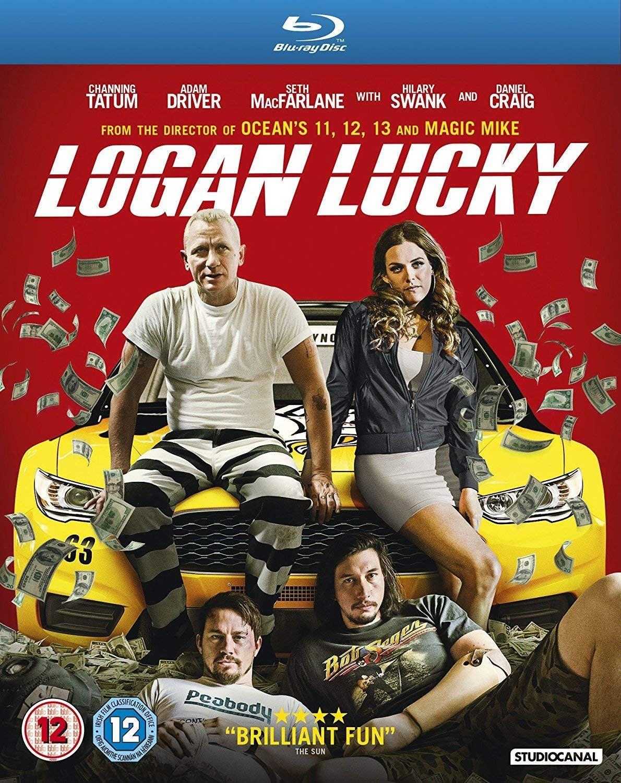 Logan Lucky [2017] Blu-ray - £1.65 + £2.99 Non Prime @ Amazon