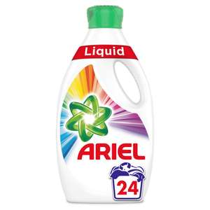 Ariel colour washing liquid 24 washes £2 @ Wilko in store & online (£2 click& collect))