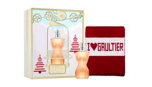 Jean Paul Gaultier Classique EDT 50ml & Scarf Gift Set extra 10% off at boots with code EXTRA10 + Free click & collect £28.80