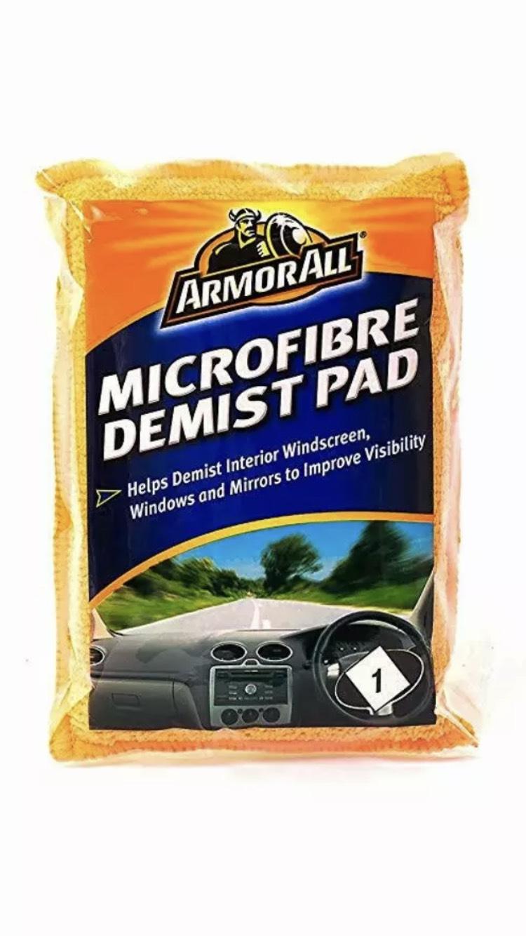 Armor All Microfibre Demist Pad 99p (+£4.49 Non Prime) @ Amazon