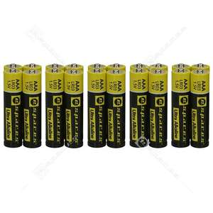 Pack of 20 Espares Ultra Alkaline AAA or AA Batteries £2.49 + £1.99 Delivery @ eSpares
