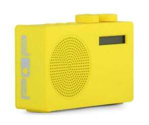 Pop Original DAB+/FM Portable Digital Radio Yellow now £12.50 delivered at Tesco eBay Outlet