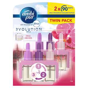 Two Ambi Pure 3volution Thai Orchid or cotton fresh £3.75 @ Amazon subscribe and save (£5 one-off +£4.49 non Prime)