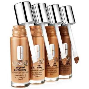 Free 10-Day Clinique Beyond Perfecting Foundation+Concealer Sample With Voucher