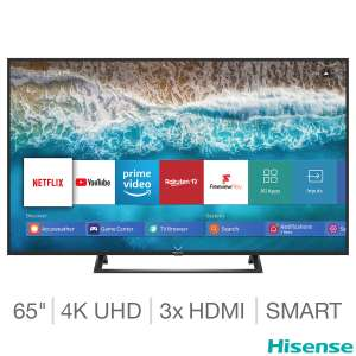 Hisense H65B7300UK 65 Inch 4K Ultra HD Smart TV £419.98 @ Costco in-store