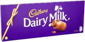 Large Dairy Milk Chocolate bar only £5.99 (+£4.49 Non Prime) on Amazon