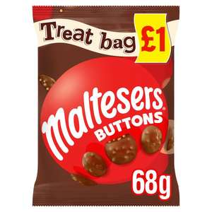 Maltesers Buttons 68g (dated 20/01/2020) - 10 for £1 @ One Below Manchester Fort