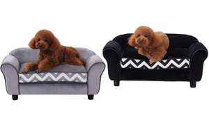 PawHut Pet Sofa with Cushion £49.99 + £1.99 delivery @ Groupon