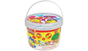 Play-Doh Craft and Dough Bucket @ Argos for £10.00 (Free Click & Collect)