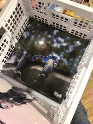 Vinyl on sale at Urban Outfitters - J Cole - 2014 Forest Hills Drive (Double Vinyl) £6
