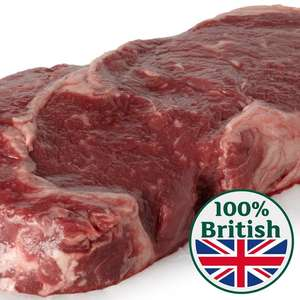 British Sirloin Thick Cut - £13/KG - from Morrisons