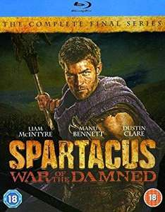 Spartacus war of the damned full series blu ray £2.16 @Amazon (£2.99 p&p non prime)