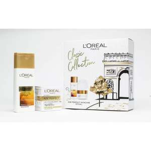 L'Oreal Paris Age Perfect Cleansing Milk Kit - £6.99 + free Click and Collect @ Argos