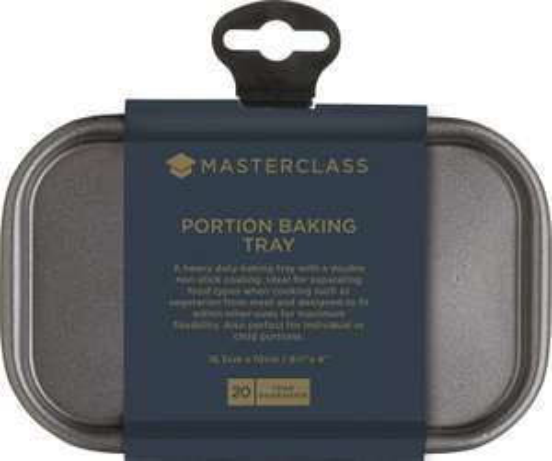 """MasterClass Small Non-Stick Baking Tray (6.5"""" x 4"""") for 97p (Prime) / £5.46 (Non Prime) delivered @ Amazon"""