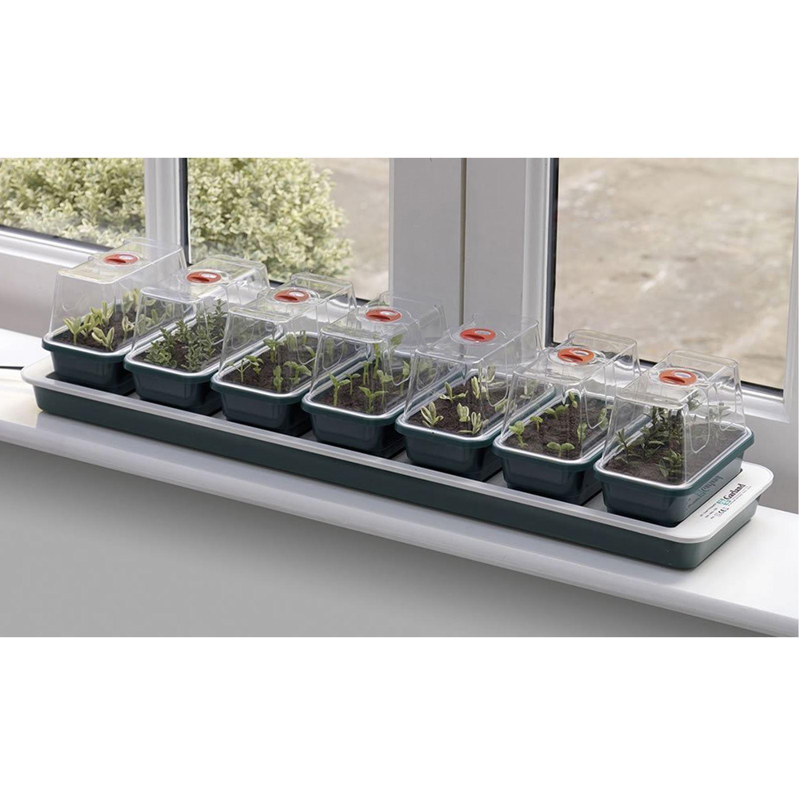Garland G51 Super 7 Electric Heated Windowsill Propagator Plant Seed Vented Tray £26.71 @ Amos