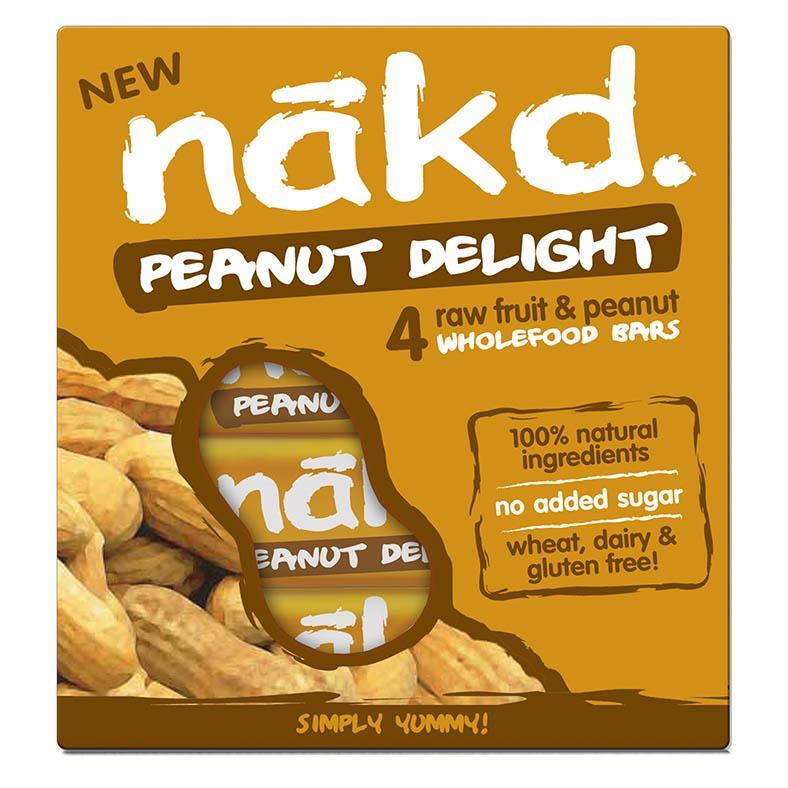 Nakd carrot cake/peanut delight bars £0.10 @ Boots Silverlink