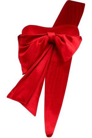 Natalie Velvet Wrap Me Up Bow - £11.20 / £16.19 delivered @ boohoo
