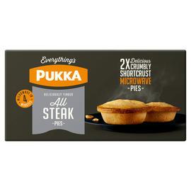 Pukka 2 Chicken & Gravy / All Steak Micro Pies - £2 @ Iceland