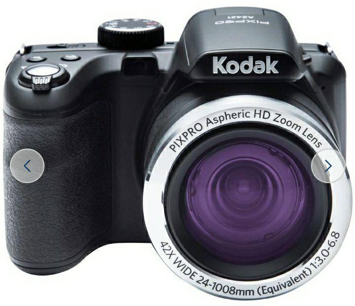 Kodak PixPro AZ421 16MP 42x Zoom Bridge Camera - Black £129.99 @ Argos