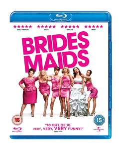 Bridesmaids BluRay £2.99 + £99p delivery NP @ Amazon