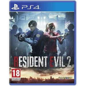 Resident Evil 2 Remake PS4 £15.99 @ My Memory