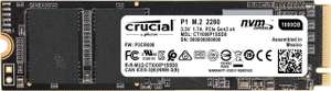 Crucial CT1000P1SSD8 P1 1 TB 3D NAND NVMe PCIe M.2 SSD 2000Mb/s Read, 1700Mb/s Write - £92.36 @ Amazon