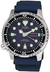 Citizen NY0040-17LE Automatic Promaster Diver Watch 200M WR, 42mm, Caliber 8203, Mineral Crystal, ISO 6425 £145.99 @ Amazon