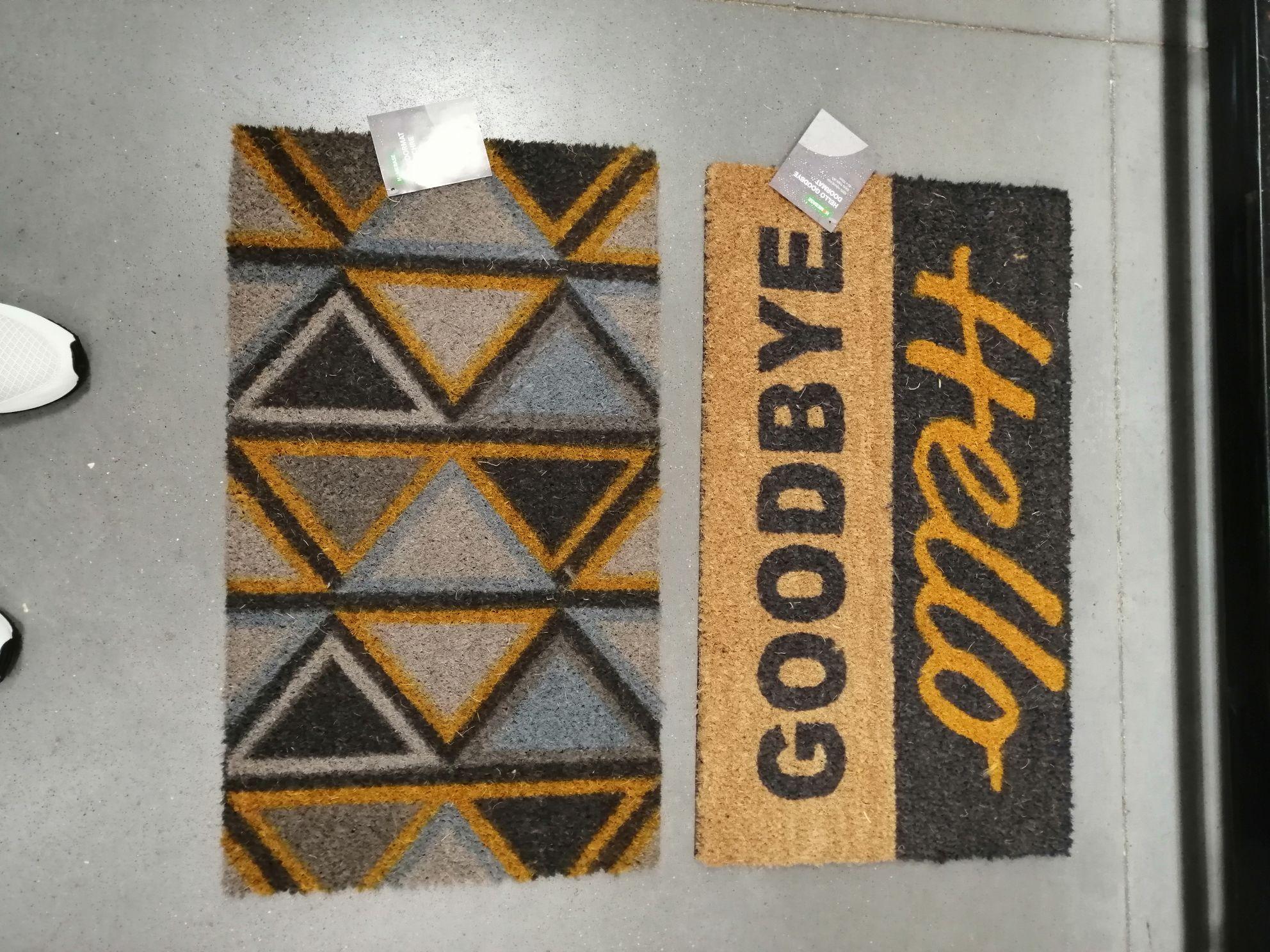 Door mats homebase lowestoft £3.00