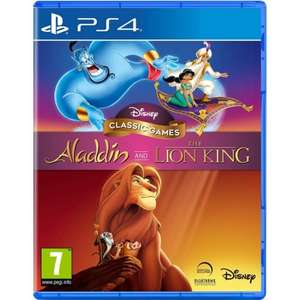 Disney Classic Games - Lion King and Aladdin PS4 for £20.50 at The Game Collection