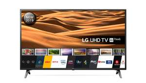 LG 49UM7100PLB 49 Inch UHD 4K HDR Smart LED TV with Freeview Play - Ceramic Black (2019 Model) Amazon Exclusive £339