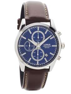 Lorus RM397FX9 Men's Chronograph Date Leather Strap Watch £30 at John Lewis and Partners (More in OP)