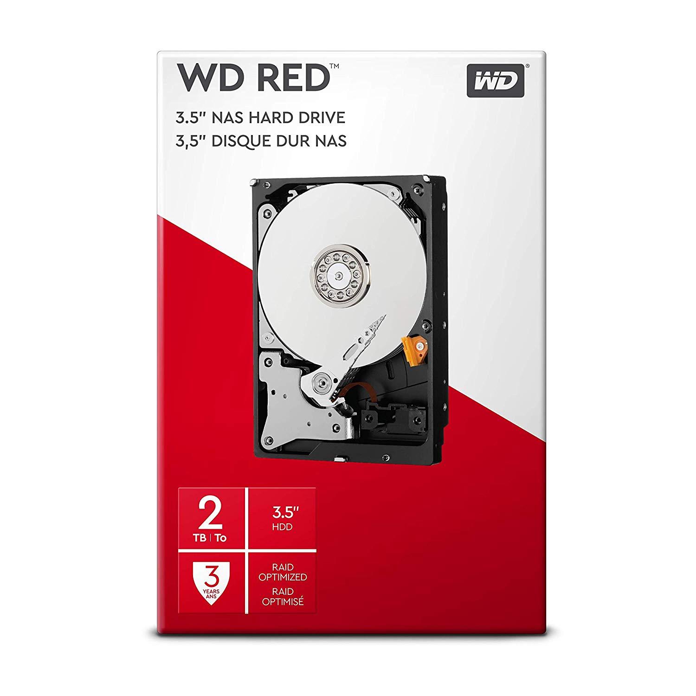 WD 2TB NAS Hard Drive @ Amazon for £59.99