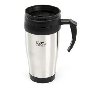 Polar Gear 0.4L Everyday Travel Mug - Stainless Steel. Free c&c at Robert Dyas for £2.99