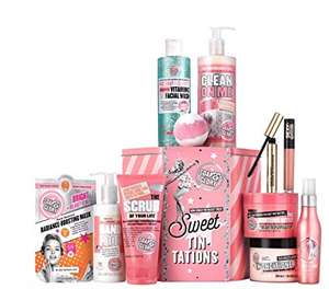 Soap & Glory Sweet Tin-Tations Gift Set £24.30 (With Code) @ Boots - Free C&C