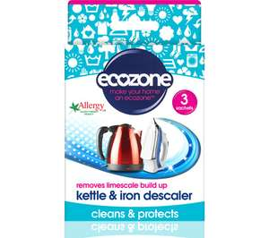 ECOZONE Kettle & Iron Descaler now 91p free click and collect at Currys