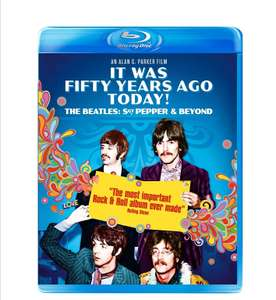 It Was Fifty Years Ago Today! The Beatles: Sgt. Pepper & Beyond [Blu-ray] £2.38 (+£2.99 Non Prime) @ Amazon