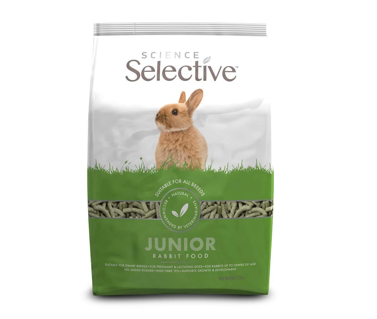 Supreme Science Selective Junior Rabbit Food 1.5kg £2.18 (+£4.49 Non Prime) @ Amazon